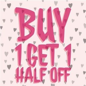 Entire closet. Buy one get one half off
